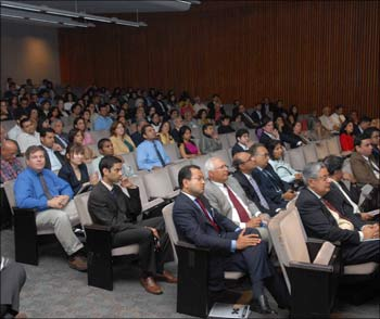 A section of the audience at the AIF Annual Summit in New York on Monday.