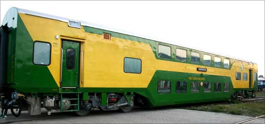 India's first air conditioned double-decker.
