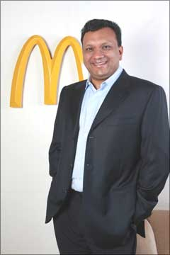 Image: Amit Jatia, managing director, McDonald's India, (west & south)