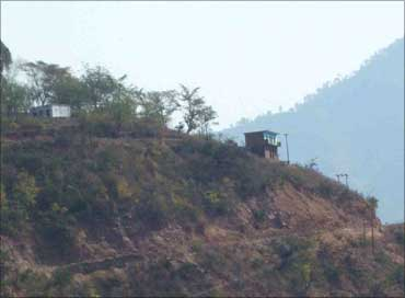 Unit at a hil top in Baripur, Uttaranchal.