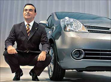 Carlos Ghosn CEO and President of Renault of France and Nissan of Japan.