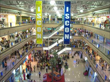 ISCON Mall in Surat.