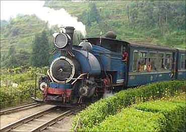 Darjeeling Himalayan Toy Train.