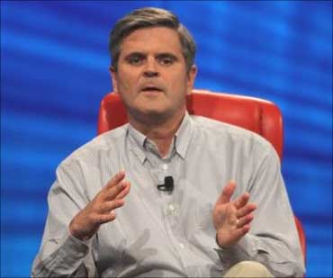 AOL co-founder Steve Case.