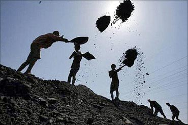 Coal India workers.
