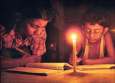 Power crisis in India.