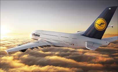 Lufthansa to fly Airbus A380 on India route