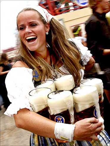 Beer fest in Germany.