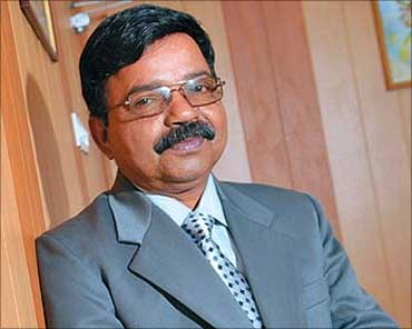 R R Nair, the tainted MD and CEO of LIC Housing Finance.