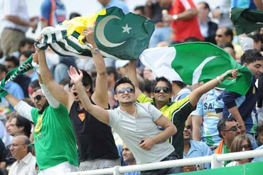 Pakistani cricket fans.