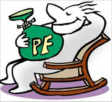 PF, a social security cover.