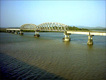 A bridge on the Konkan route.