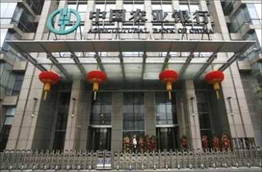 Agricultural Bank of China.