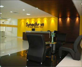 The Synechron Global Delivery Center at Hinjewadi, Pune.