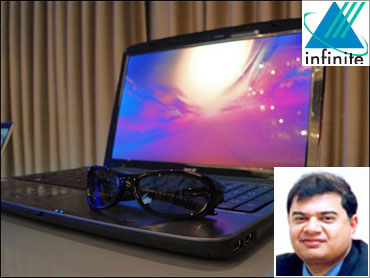 (Inset) Infinite chairman Sanjay Govil.