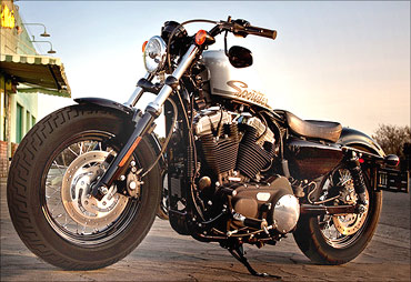 Harley Davidson Forty-Eight.