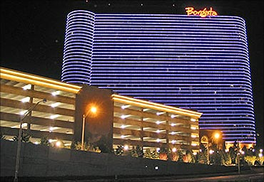 The $1.1 billion hotel, casino, and spa is the largest resort in Atlantic City.