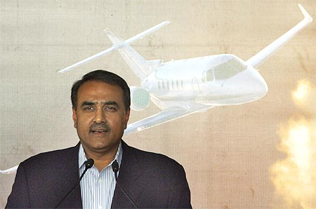 Former civil aviation minister Praful Patel.