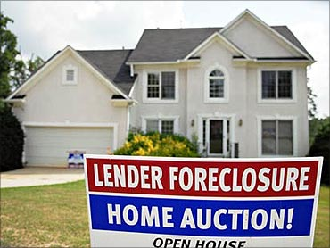 Home foreclosures provide debt relief.
