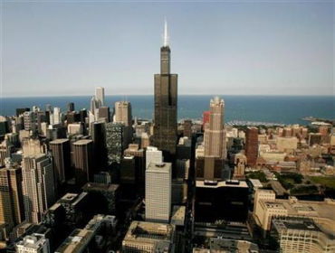 Chicago is a big financial centre.