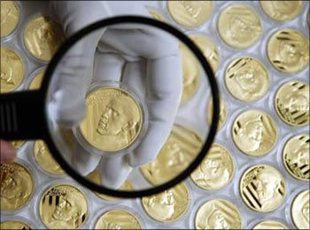 Gold should form 10 per cent of portfolio.