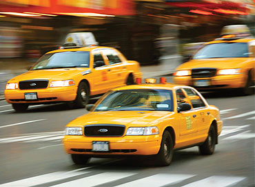 Taxi fare varies across the world.
