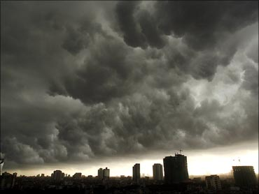 Dark clouds are hovering over the Indian economy.
