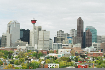 A view of Calgary.