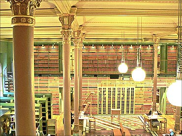 Swedish Parliament Library.