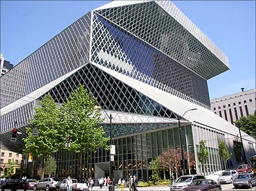 Central Library, Seattle.