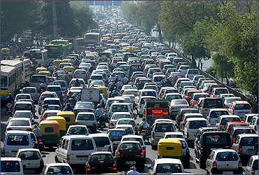Problems that plague India's urbanisation - Rediff.com