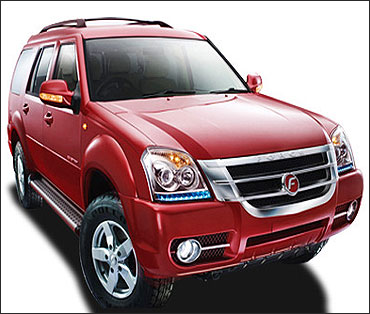 Force One: The stunning Rs 11-lakh SUV