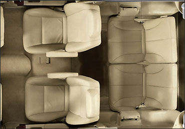 Force One rear seats.