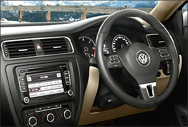 Jetta dashboard.