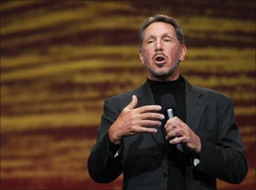 Larry Ellison, Oracle co-founder and chief executive.