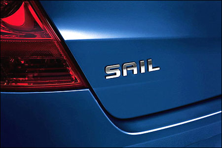 The all new Chevrolet Sail will soon be in India