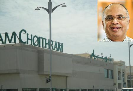 Chairman LT Pagarani, inset, heads the Choithram Group.