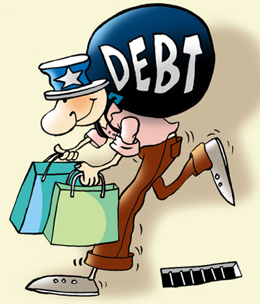 Is US living on borrowed money? Its debt = $15 trillion