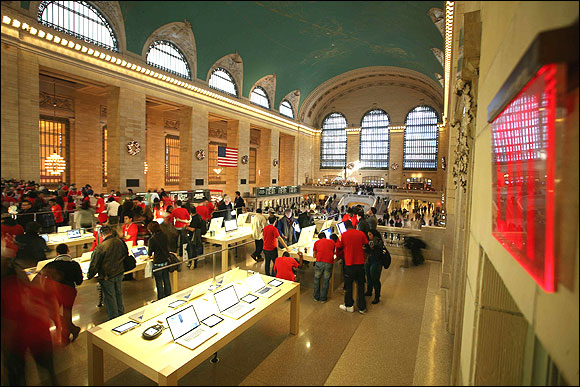 Apple's new store in New York.