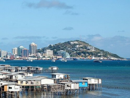 A view of Port Moresby.