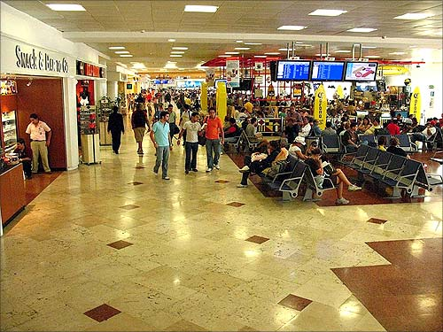 Cancun International Airport.