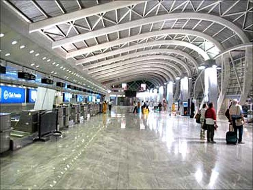 Mumbai International Airport.