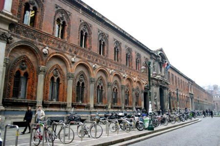 The central building of University of Milan.