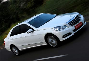 Who's better? Merc E-Class versus Skoda Superb V6
