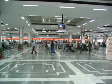 Indira Gandhi International Airport, Palam.