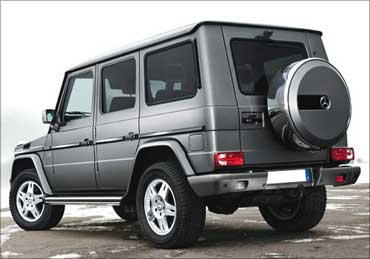 The iconic Mercedes G 55 AMG at Rs 1.1 crore!