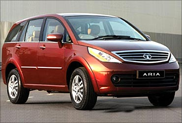 Tata Motors launched Aria in October