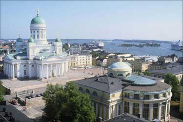 Senate Square in Helsinki.