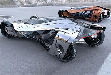 10 futuristic cars you must see rediffcom business