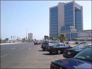 Commercial centre in Jeddah.
